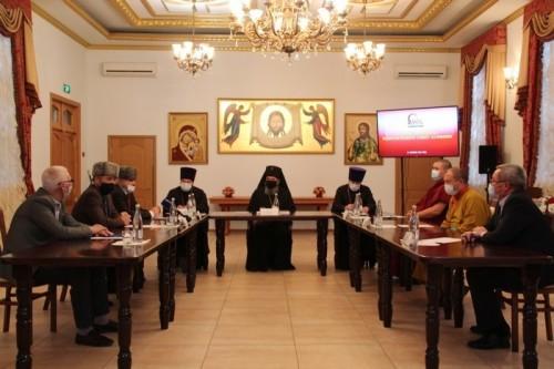В Элисте прошло заседание Межрелигиозного совета Калмыкии