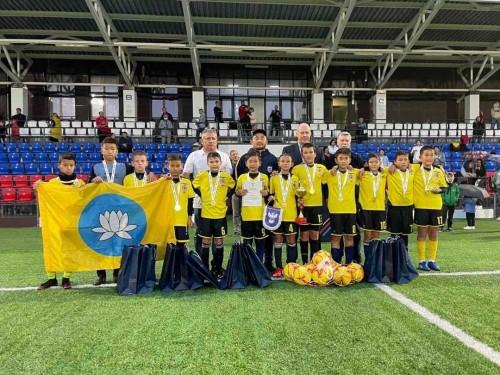 Уралан-2010 – чемпион третьего этапа Всероссийского соревнования юных футболистов «Кожаный мяч»