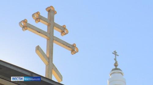 Христиане Элисты отметили 75-летие с момента явления Иисуса Христа горожанам