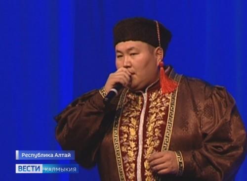 Певец из Калмыкии выступил в Республике Алтай