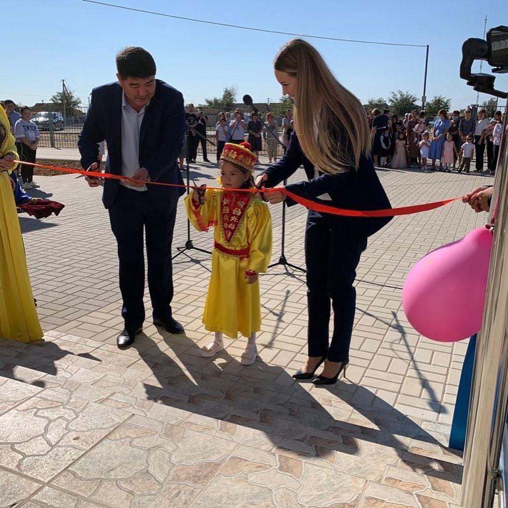 В посёлке Утта открыл свои двери новый детский сад «Иньгллт»