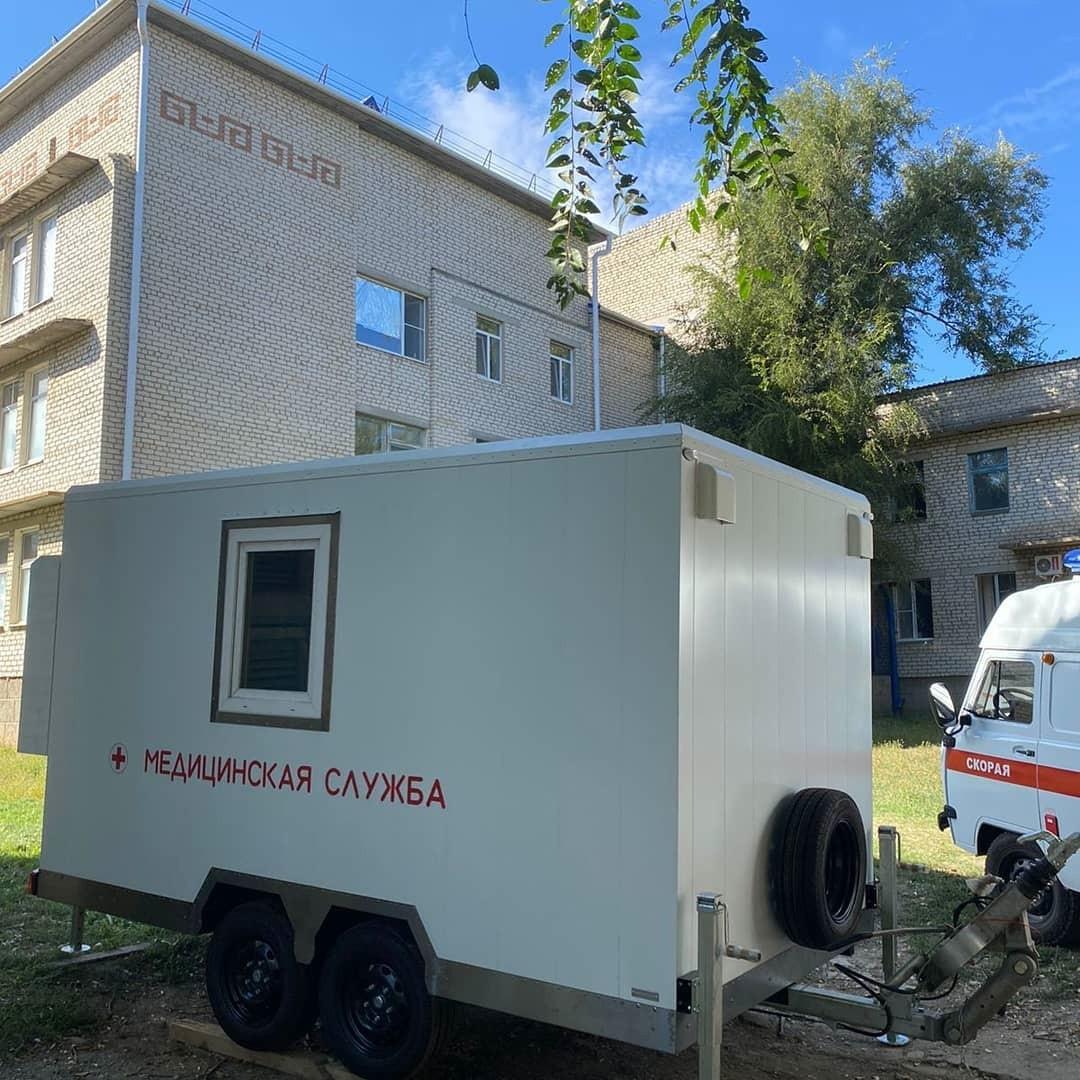 Передвижной флюорографический комплекс поступил  в Яшалтинскую районную больницу