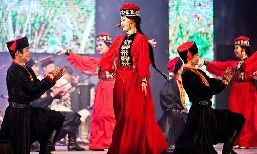 Сегодня в Астрахани состоится концерт ансамбля песни и танца Калмыкии «Тюльпан»