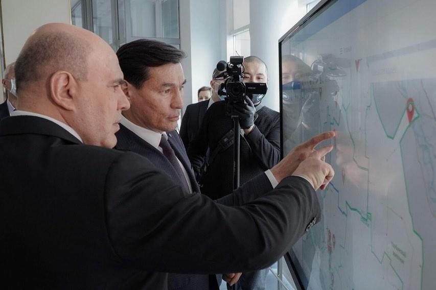 Впервые степной край посетил Председатель Правительства страны