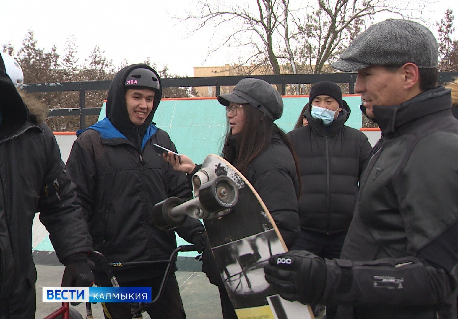 Первый скейт-парк международного уровня открылся сегодня в Элисте