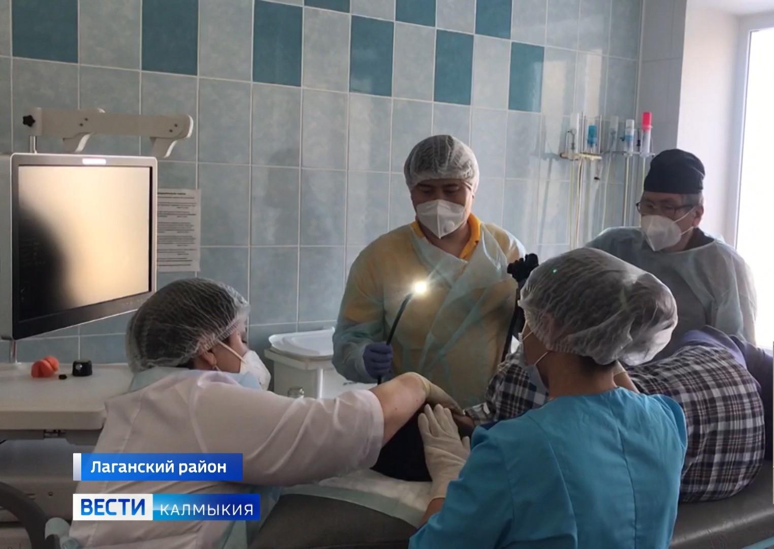 В Лаганской больнице теперь проводят высокотехнологичные операции