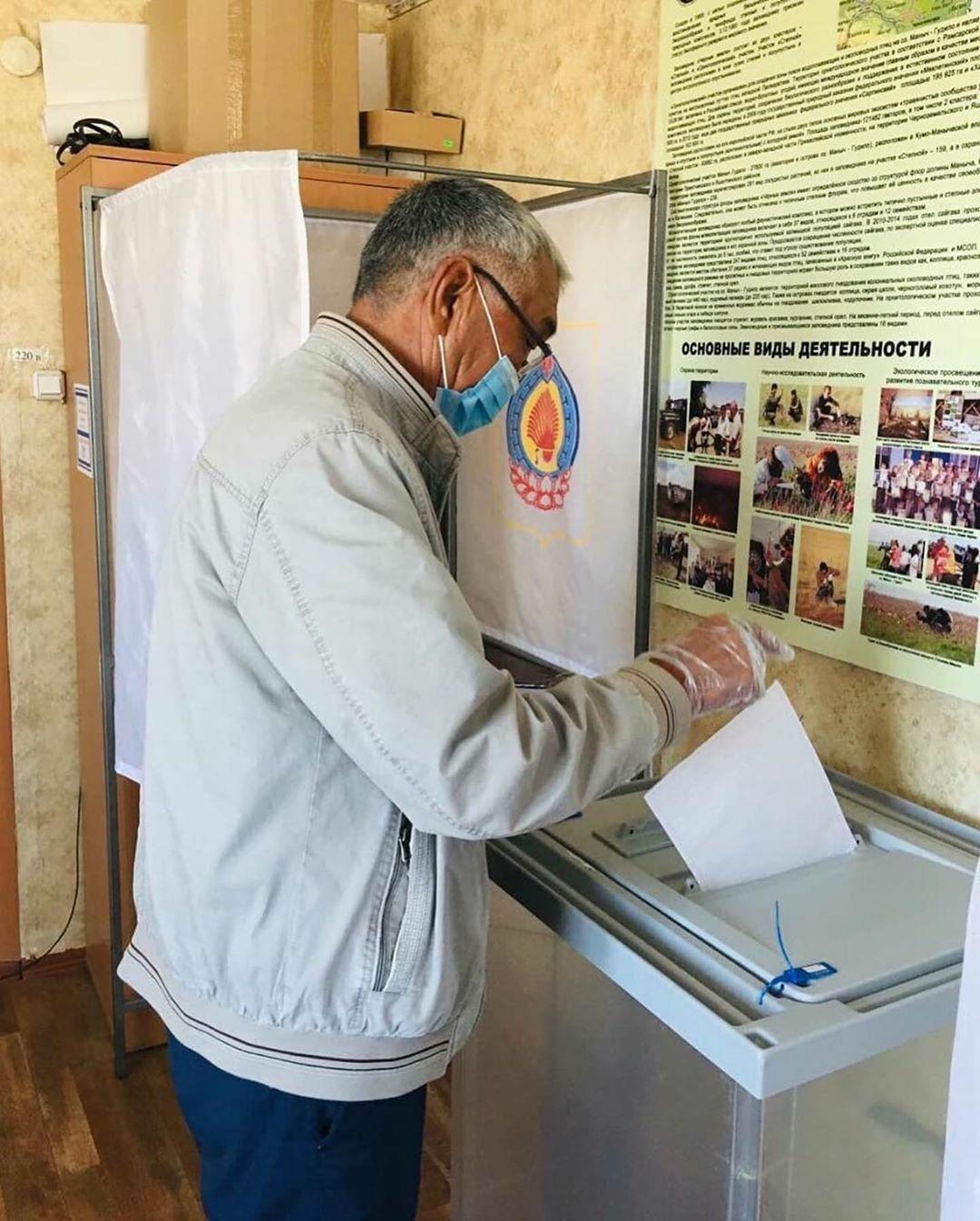 В Калмыкии проходит Единый день голосования