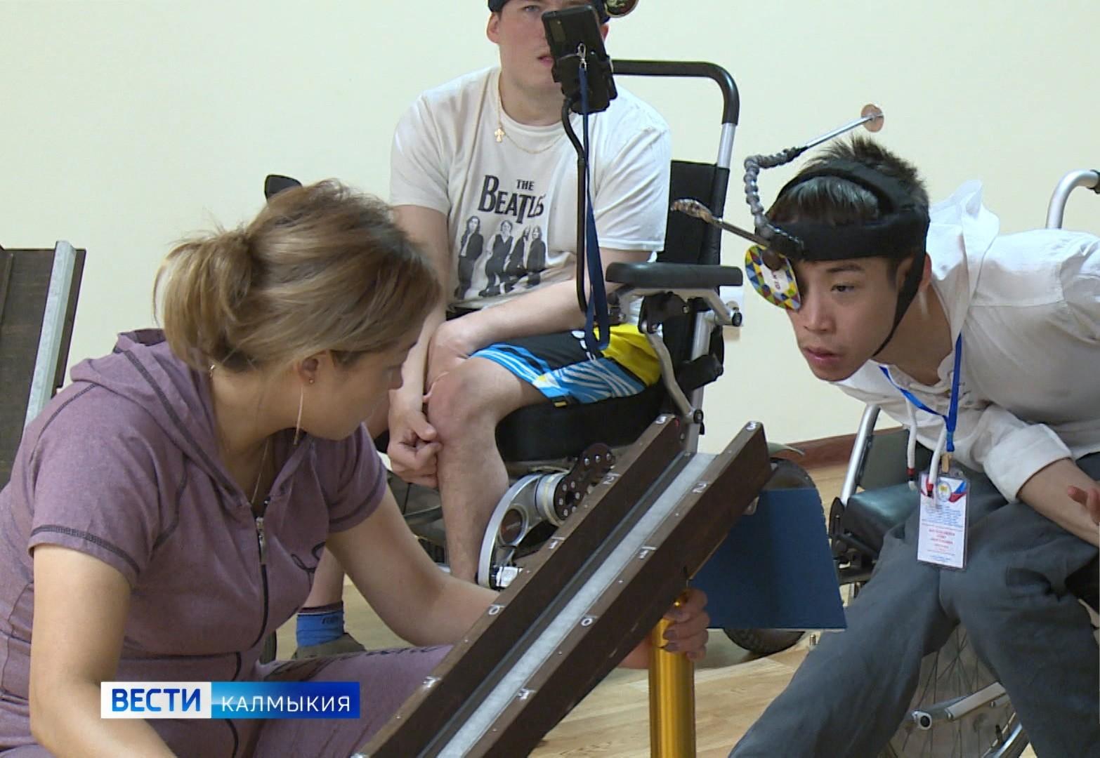 В Калмыкии проводятся учебно-тренировочные сборы для спортсменов-паралимпийцев