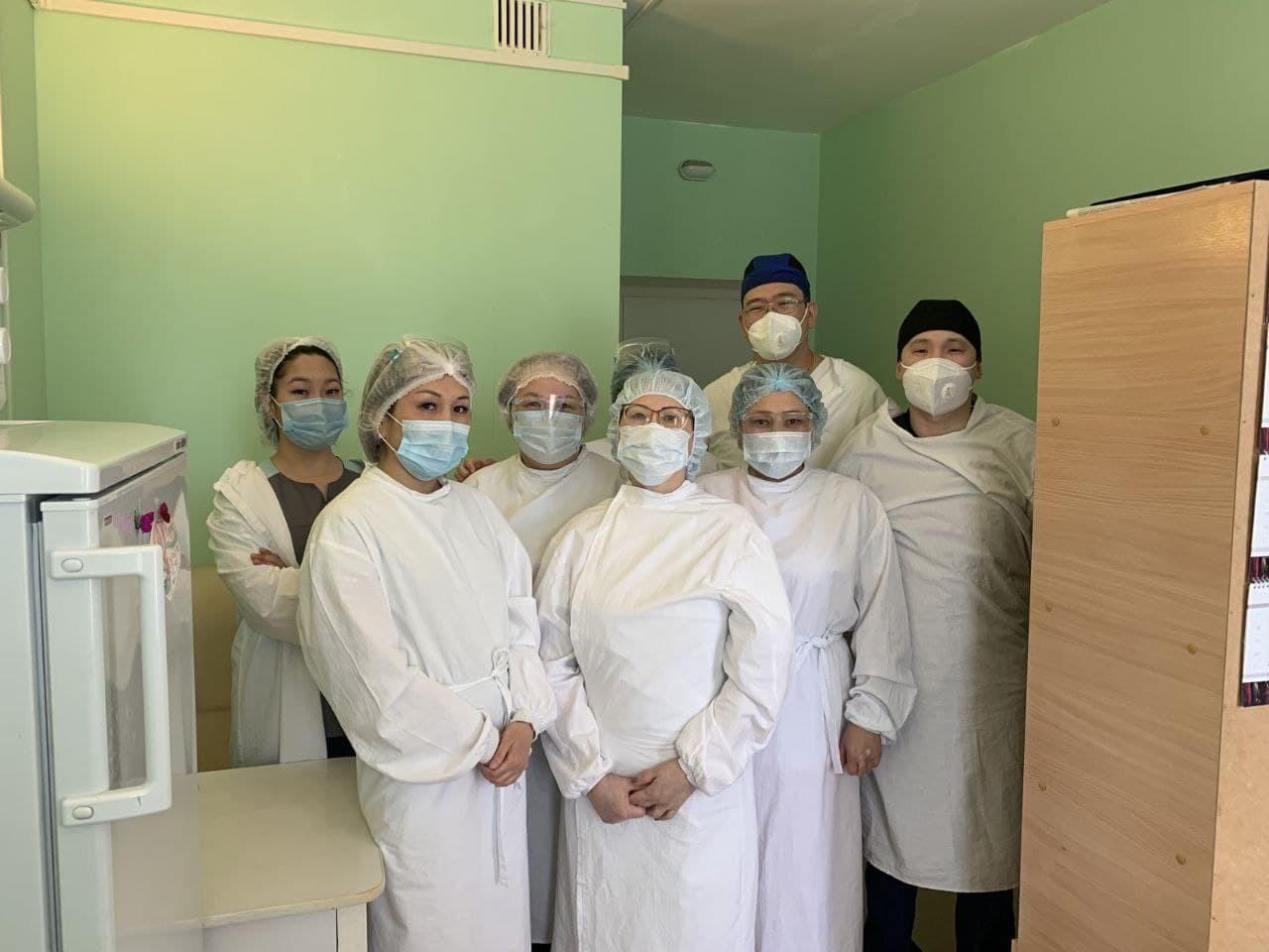 В Республиканской больнице имени Жемчуева сосудистыми хирургами проведена экстренная операция
