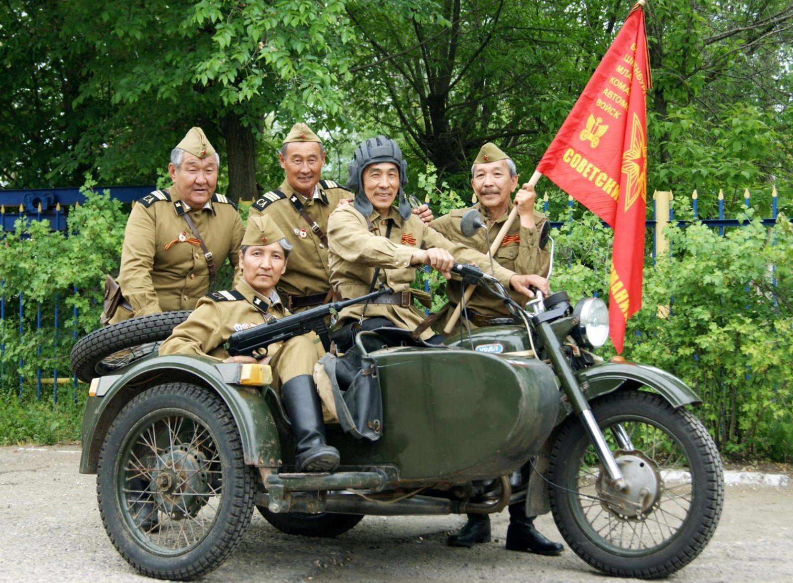 Сегодня в Элисте состоится празднование Дня образования группы советских войск в Германии