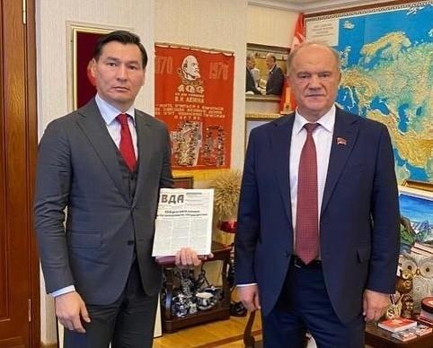 «Конструктивно взаимодействуем с фракцией КПРФ в Государственной Думе»