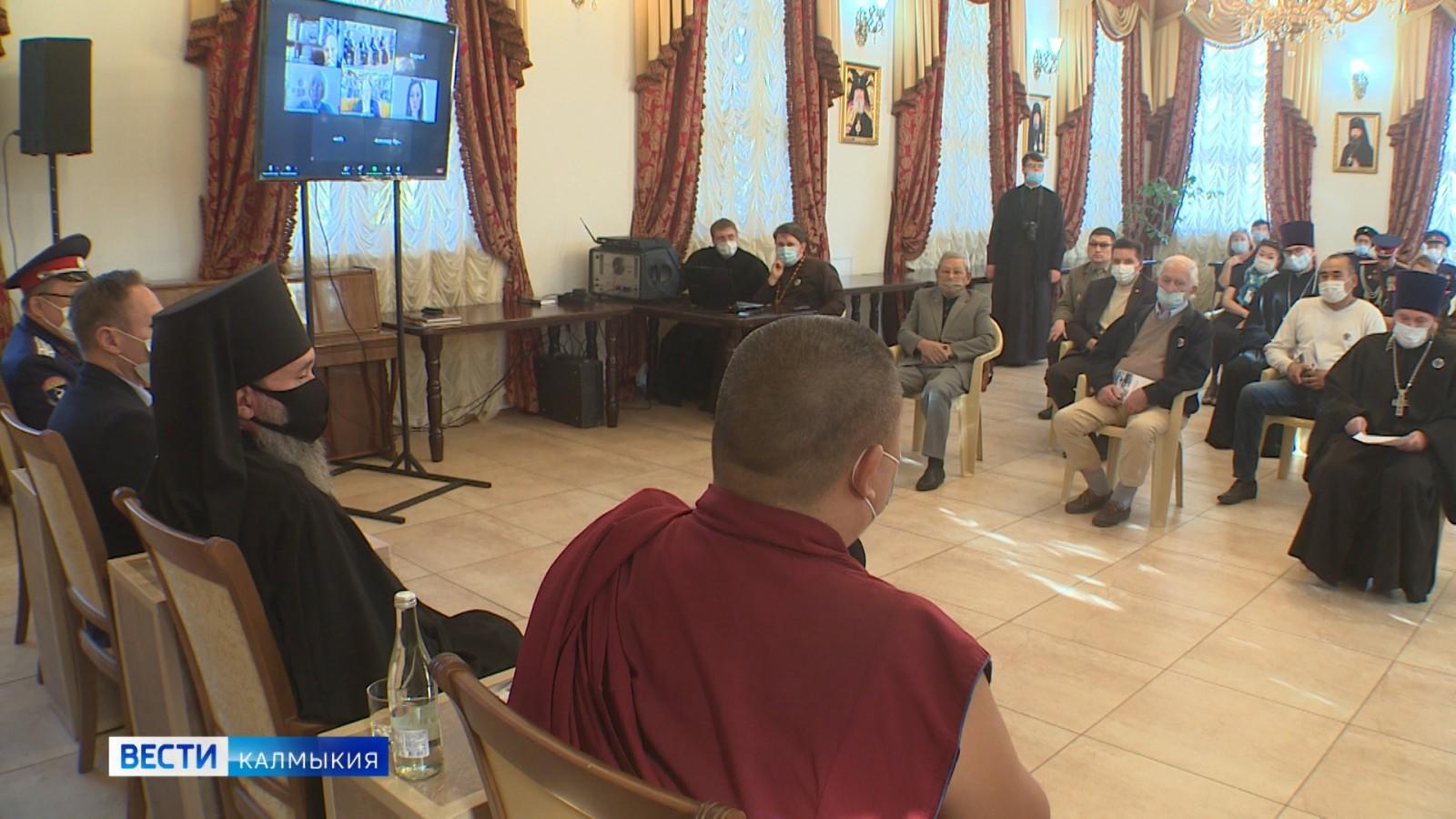 В Казанском кафедральном соборе состоялся межконфессиональный круглый стол
