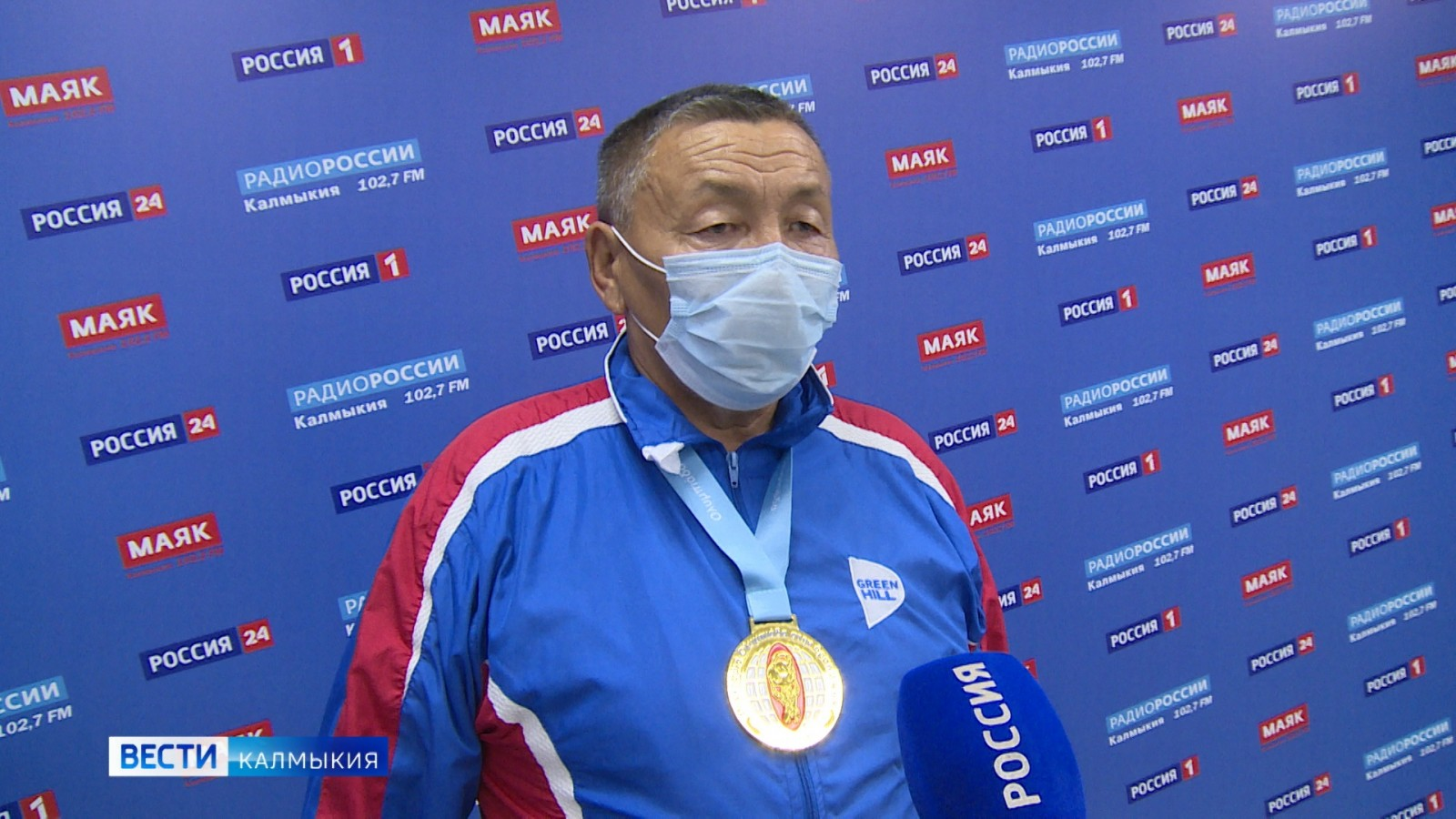 Вячеслав Эрднеев – Чемпион Международного турнира по гиревому спорту
