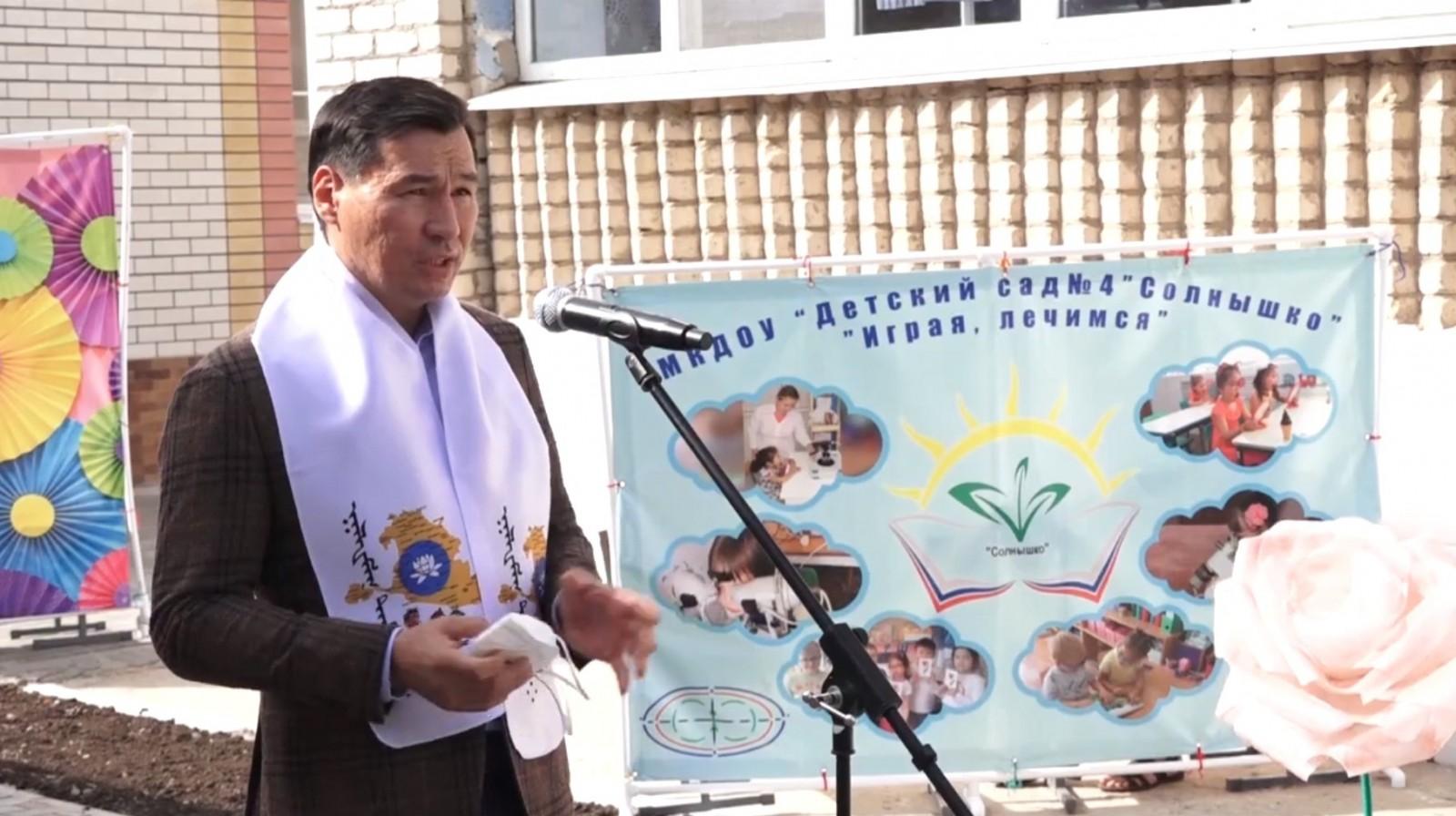 Сегодня состоялось открытие пристроя к зданию детского сада «Солнышко»