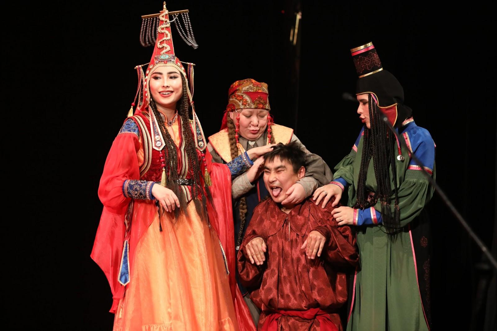 «Читиген» - на сцене Национального театра Калмыкии