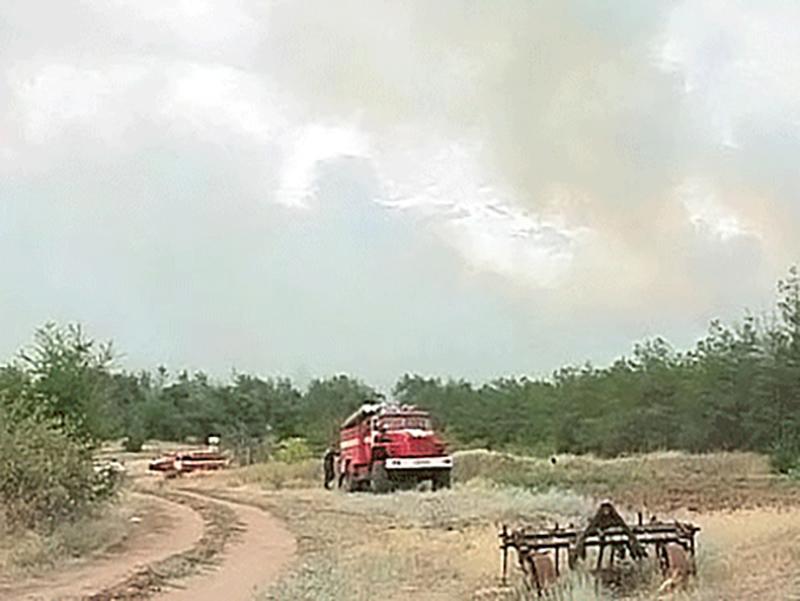 В России значительно увеличилась площадь пожаров