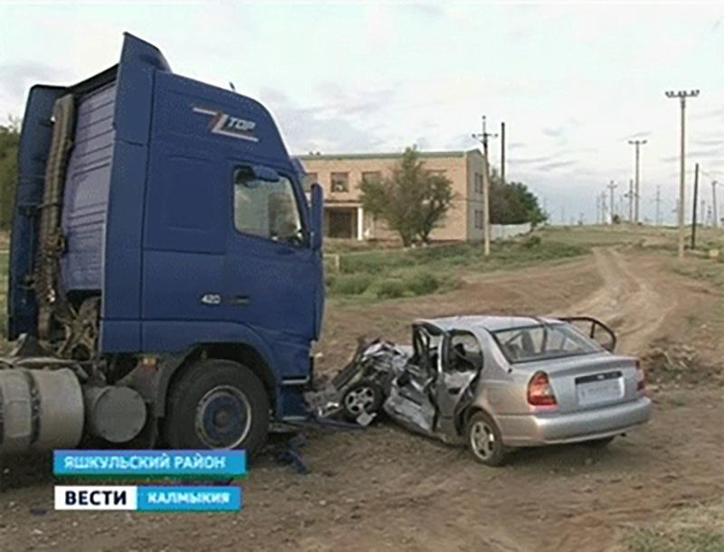 Погиб водитель в результате ДТП на окраине пос.Яшкуль