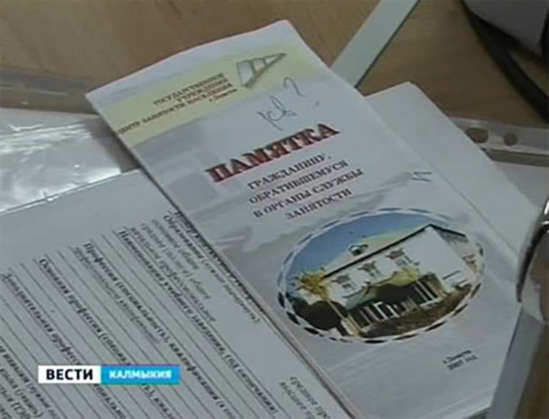 Число безработных в Калмыкии превысило 12 тысяч человек