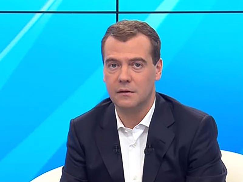 """Медведев: """"Единая Россия"""" может рассчитывать на поддержку народа, если будет меняться"""