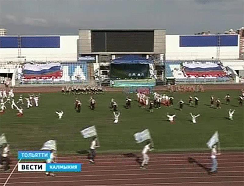 Делегация Калмыкии поздравила Тольятти с 275-летием