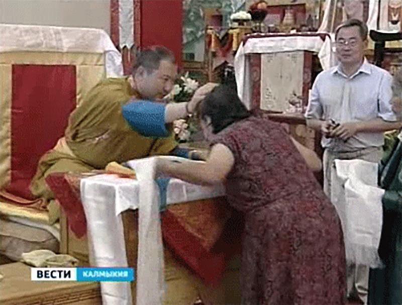 Тэло Тулку Ринпоче стал Почетным гражданином Калмыкии