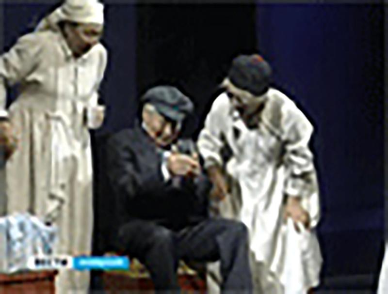 В Национальном драмтеатре прошел юбилейный вечер Ивана Уланова