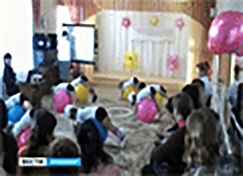 В детских садах Калмыкии развиваются физкультура и спорт