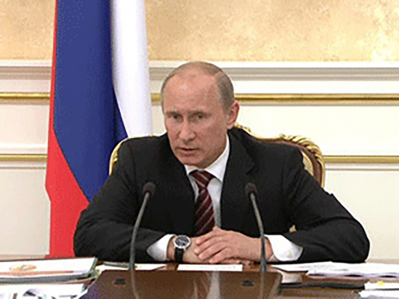 Путин: в России накоплено 90 миллиардов тонн отходов