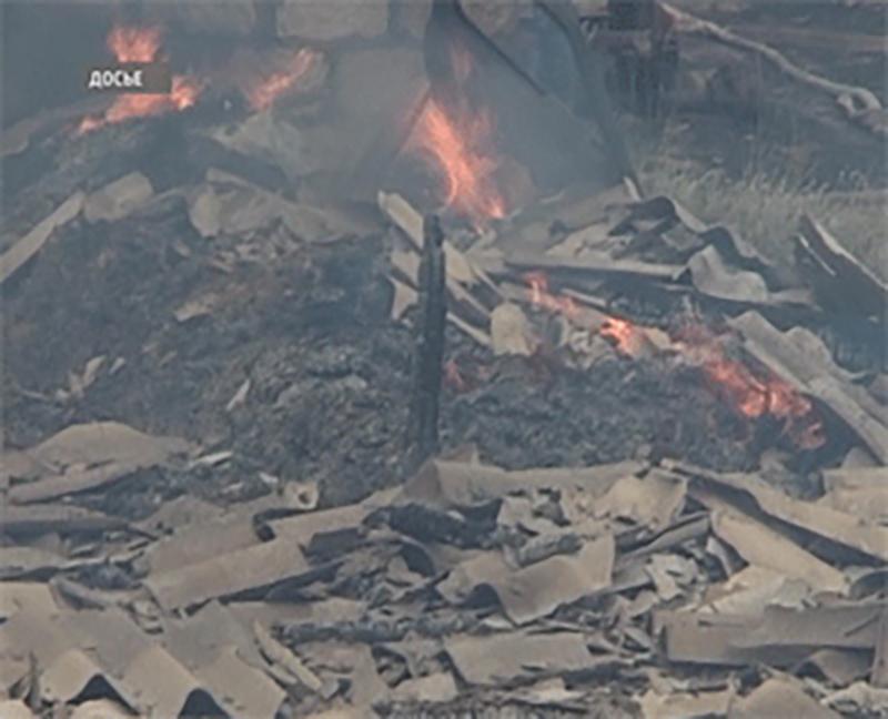 В Цаган-Амане горели рулоны сена, в Элисте — квартира и автомобиль