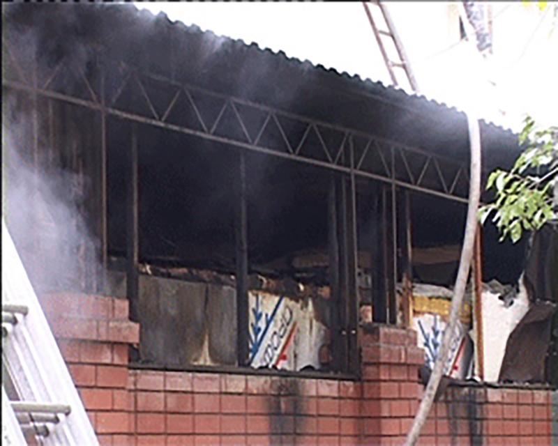 Пожар в элистинском ресторане мог стать результатом поджога