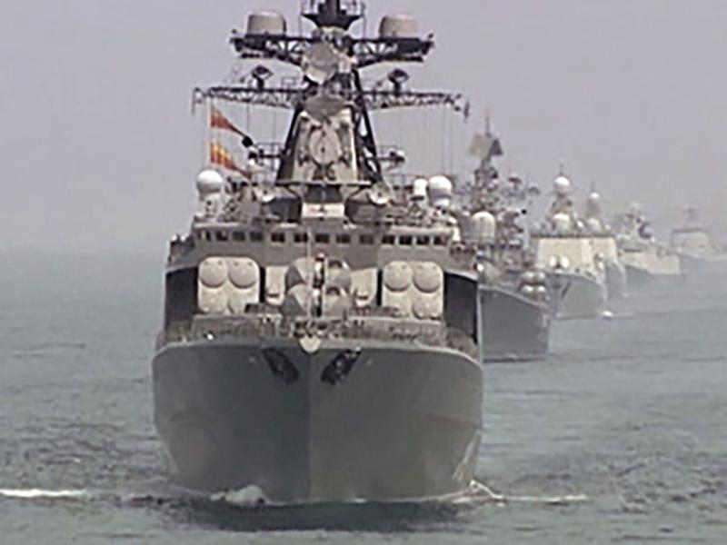 Россия празднует день основания ВМФ