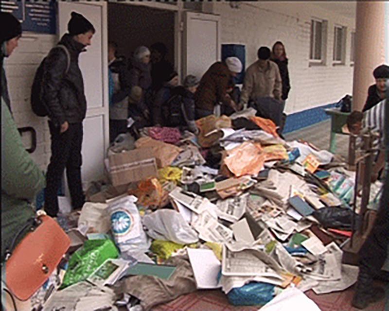 «Собери макулатуру — помоги детям»: в Элисте проходит благотворительная акция по сбору макулатуры