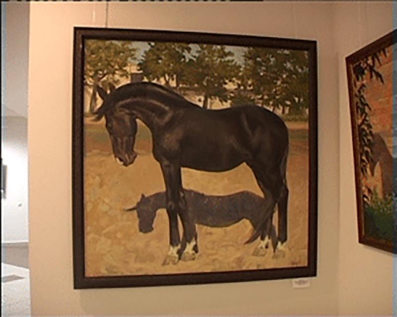 В Нацмузее Калмыкии открылась персональная выставка Олеси Майдибор