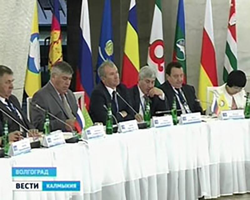Калмыцкие инициативы были приняты на заседании ЮРПА