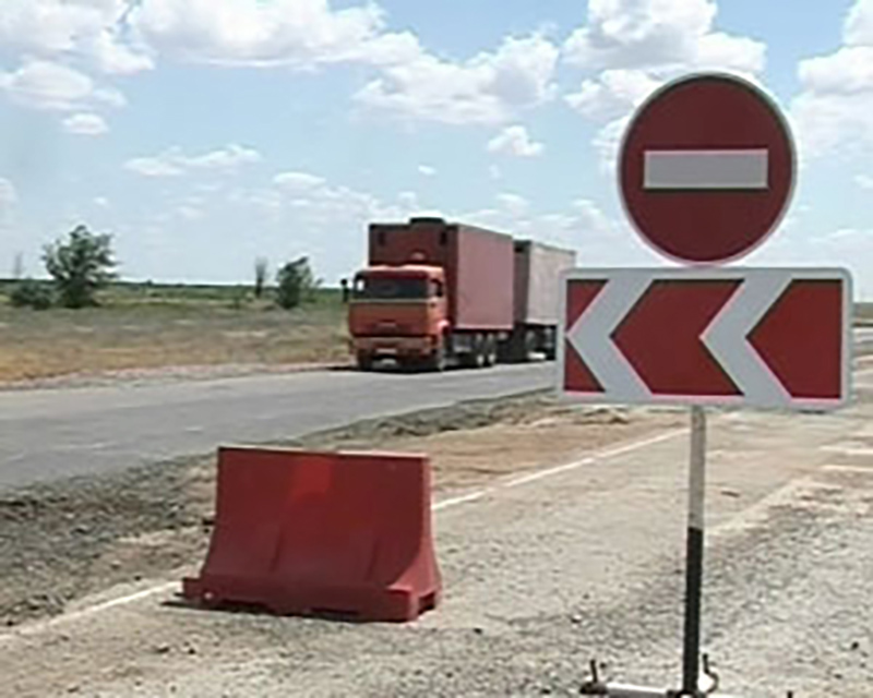 На дорогах Калмыкии движение будет ограничено