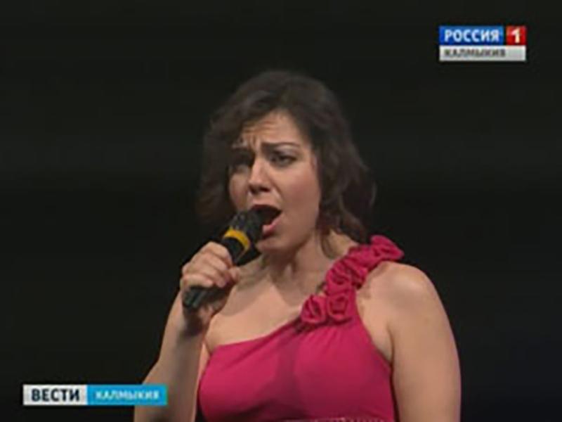 В Элисте прошел благотворительный концерт Татьяны Печниковой