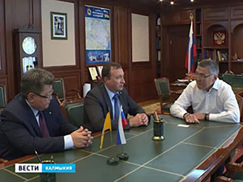 Рабочая встреча Главы РК Алексея Орлова