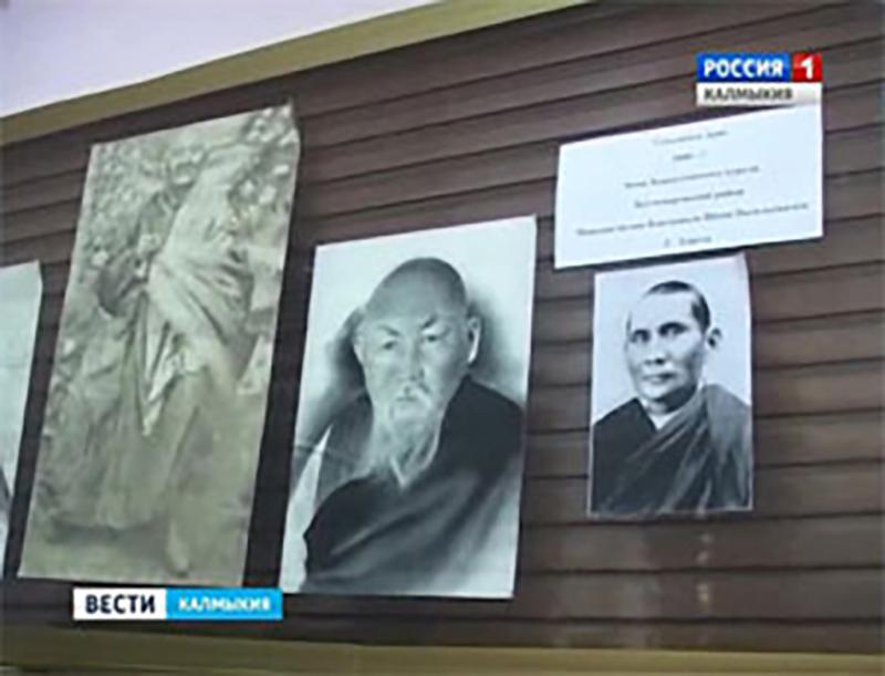 В Центральном хуруле открылась выставка «Красная буря»