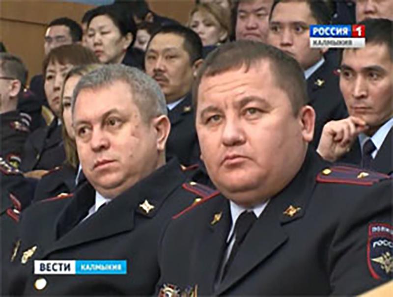 В Элисте состоялось состоялось расширенное заседание коллегии МВД по Калмыкии