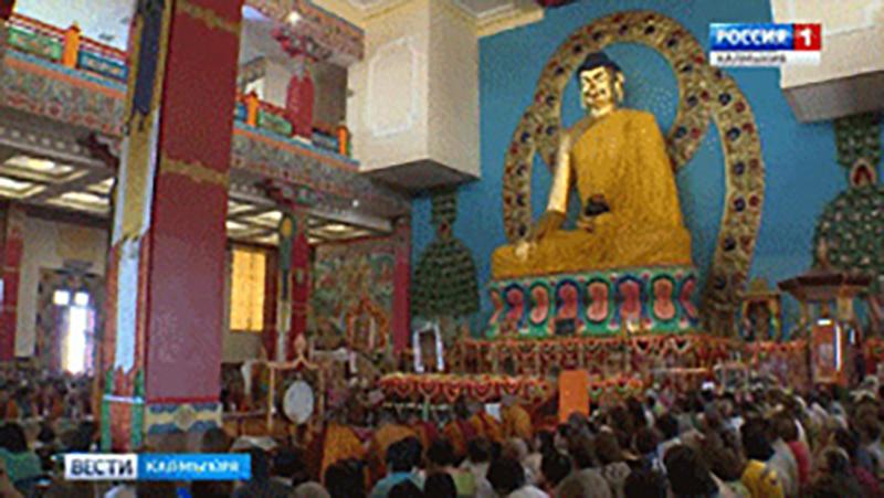 Сеодня жители Калмыкии отмечают День рождения Будды Шакьямуни