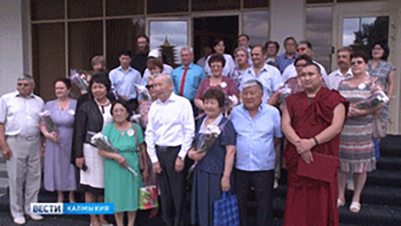 Медаль за любовь и верность получили 20 элистинских семей