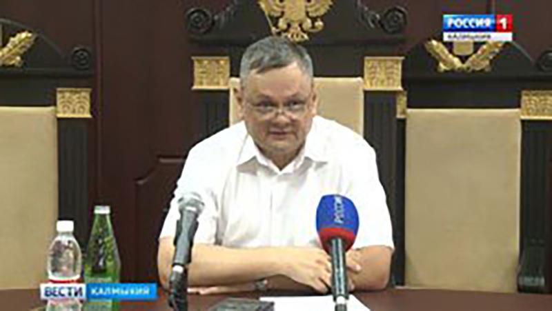 Итоги за первое полугодие подвел Председатель Верховного суда Калмыкии