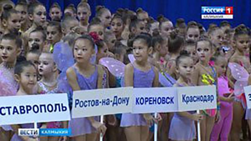 В Элисте сформирована сборная республики по художественной гимнастике