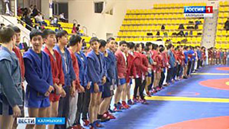 «Ойрат Арена» собрала рекордное количество юных самбистов и дзюдоистов