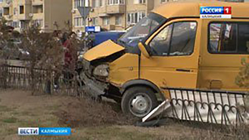 ДТП с участием пассажирской газели