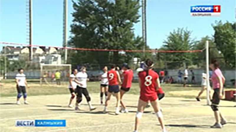 Делегация из Калмыкии принимает участие в XII Всероссийских летних сельских спортивных играх