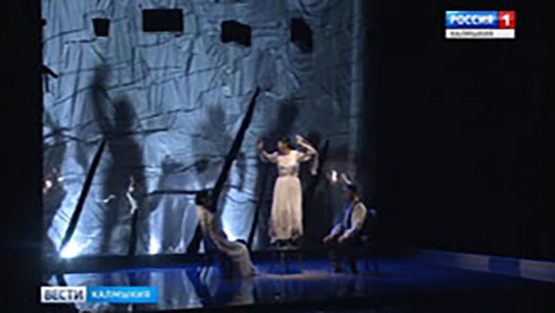 В Калмыкии находится труппа бурятского театра драмы