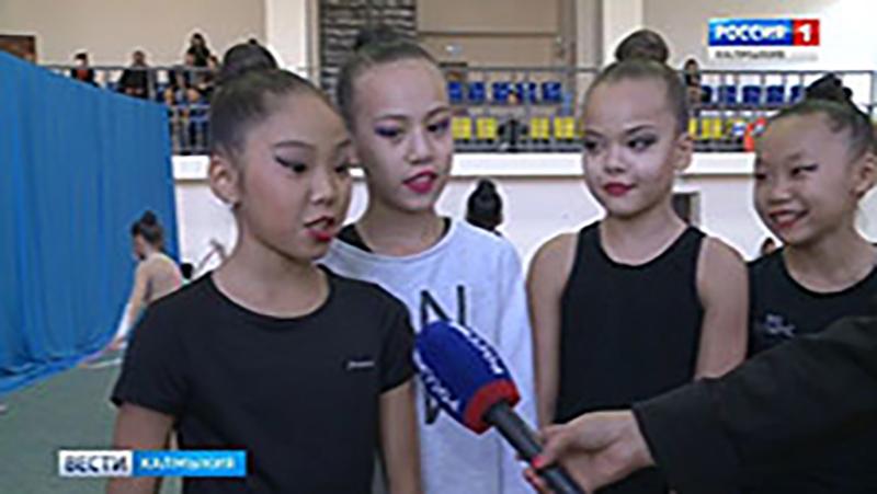 В Элисте состоялся турнир по художественной гимнастике