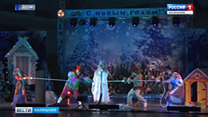 На Кремлевскую елку отправятся 36 школьников Калмыкии