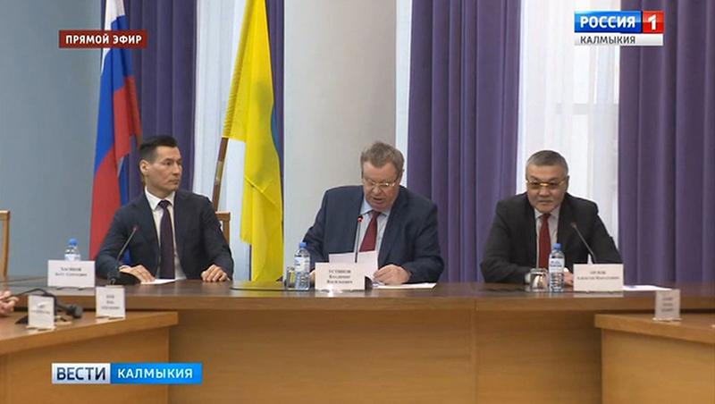 В Элисте представили врио главы Калмыкии Бату Хасикова